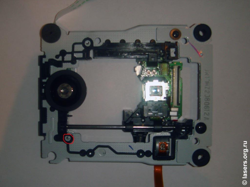 Извлечение лазерного диода из DVD привода LASERS.ORG.RU